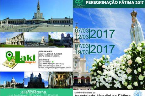 PEREGRINAÇÃO FÁTIMA 2017