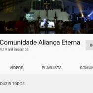 Acompanhe-nos no Youtube